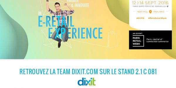 Meet Dixit.com at the e-commerce exhibition in Paris