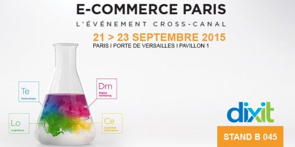 Meet us at the e-commerce trade show 2015 in Paris