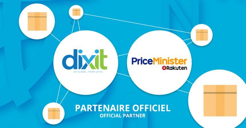Dixit, partenaire de PriceMinister