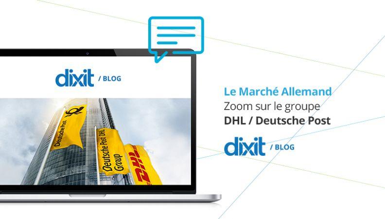 Le Groupe Deutsche Post DHL est partenaire de Dixit