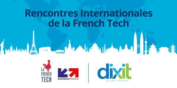 Rencontres Internationales de la French Tech 2017 - Dixit Fournisseur Officiel