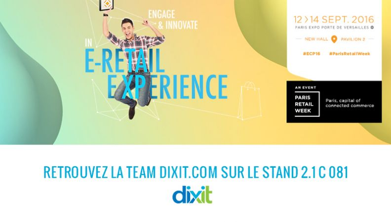 Retrouvez Dixit.com au Salon du e-commerce à Paris !